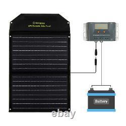 Panneau Solaire Portable Newpowa 60w Watt 12v Compatible Avec Générateur Solaire Normal