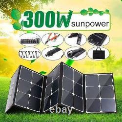 Panneau Solaire Portatif De 300 Watts