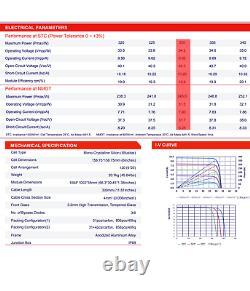 Panneau Solaire Talesun-tp6f60m-330-pallet Du 31-best Performance-total 10230watts