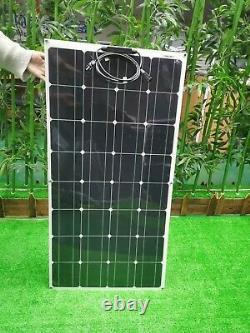 Panneaux Solaires De 90 Watts, Flexible, Léger, Urgence, Camping, Livraison Gratuite