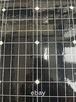 Panneaux Solaires Flexibles 120watt Monocristallins, Pour Camping-cars, Fourgonnettes, Bateaux