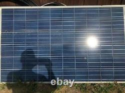 Panneaux Solaires Rena Sola 230 Watts, 24 Volts 39 1/2 Pouces De Large Par 5 Pieds De Haut