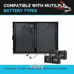 Panneaux Solaires Renogy 200 Watt Système Portable De La Plus Grande Efficacité Suitcase D'exploitation