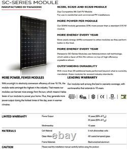 Panneaux Solaires Tesla De 330 Watts (96 Cellules) -quantité De 10 -sc330 Puissance 3330 W
