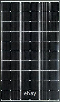 Paquet De 15 Panneaux Solaires D'efficacité 310w Monocristallin 19% 4650watt