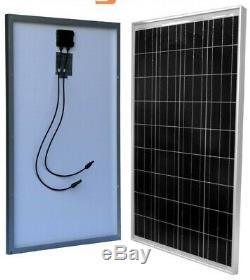 Portable 1500/3000 Watt Solaire Générateur 100ah batterie + 100w Panneau Solaire