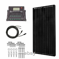 Powereco 100 Watt Kit Solaire Mono Pour 12v Batterie De Rv Et Boat100w Kits Solaires