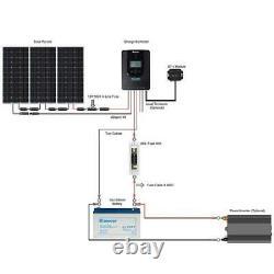 Récogy 300 Watt 12 Volts Kit Premium Solar De Grille Avec Pa Solar Monocristallin