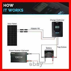 Renogy 100 Watt 12 Volt Panneau Solaire Monocristallin Design Compact 42,4 X 20,0 1
