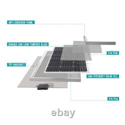 Renogy 100w Watt 12v Volt Mono-cristallin Panneau Solaire 100w 12v (design Compact)
