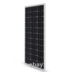 Renogy 100w Watt 12v Volt Panneau Solaire Monocristallin 100w 12v Pv D'alimentation