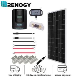 Renogy 100watt 12volt Solar Premium Kit Avec 20a Contrôleur De Charge Mppt Hors-grid