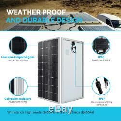 Renogy 150w 160w 12v Volt Monocristallins Panneau Solaire 160 Watt Pv Hors Réseau Électrique