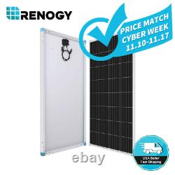 Renogy 175w 12v Volt Mono-cristallin Panneau Solaire 175 Watt Off Grid Pv Power