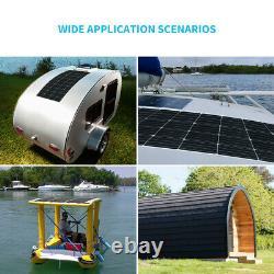 Renogy 175w Watt 12v 248° Panneau Solaire Flexible Mono Pour Rv Rooftop Boat Off Grid
