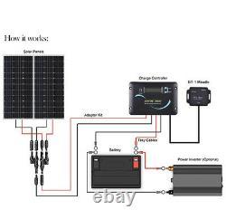 Renogy 200 Watt 12 Volts Solar Rv Kit Rng-kit-rv200d-adv30