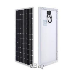 Renogy 200 Watts 12v Monocristallin Solaire Starter Kit 30a Pwm Contrôleur De Charge