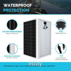 Renogy 400watt 12volt Solar Panel Starter Kit Avec Contrôleur De Charge Mppt 40a