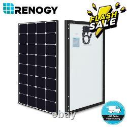 Renogy Eclipse 80w 100w Watt 12v Mono Solar Panel Haute Efficacité Pv Puissance