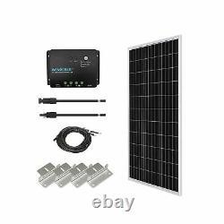 Renogy Monocrystallin Solar Starter Kit 100 Watts 12 Volts Cadre En Aluminium Nouveau