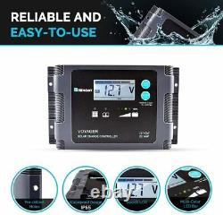Renogy Panneaux Solaires 100 Watt Portable System La Plus Grande Efficacité Plier Valise