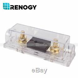 Renogy Watts 400w 12v Mono Panneau Solaire Kit Premium Avec 40a Mppt Contrôleur De Charge