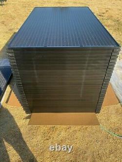 Solarworld Sunmodule Plus Sw 285 Watt Mono Black Panneaux Solaires