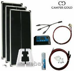 Système Complet Solaire De 300 Watt Pour Camper, Caravane Et Mobile Home Camper Gold