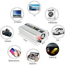 Système De Panneau Solaire 200 Watt Chargeur De Batterie Solaire Kit Complet Inverter 1000w